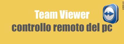 Team Viewer controllo remoto pc