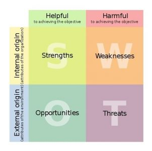 Analisi SWOT preliminare al Piano di Marketing