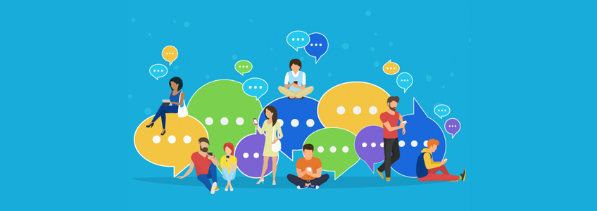 community online offline