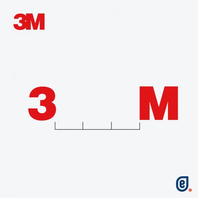 3M, logo social distancing - Ilaria Lazzaro, Endelab