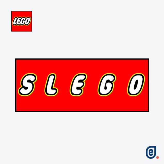 Lego, logo social distancing - Ilaria Lazzaro, Endelab